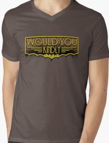 Would You Kindly Mens V-Neck T-Shirt
