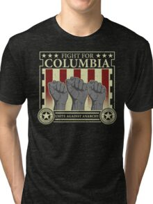 Fight for Columbia Tri-blend T-Shirt