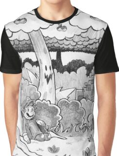 Forest of Illusion Drawing Graphic T-Shirt