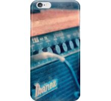 Vintage Guitar Amp Watercolor iPhone Case/Skin