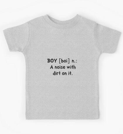 Boy Definition Kids Tee