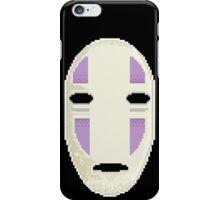 No Face in pixel art iPhone Case/Skin