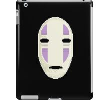 No Face in pixel art iPad Case/Skin