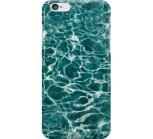 Light Blue Underwater Wavy Rippling Water Cloudy Flaming Smoke Smokey Water iPhone Case/Skin