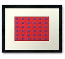 Tick Framed Print