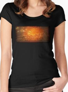The Palms Women's Fitted Scoop T-Shirt