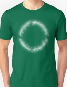 Lord of the Rings - The Ring (Glowing White) T-Shirt