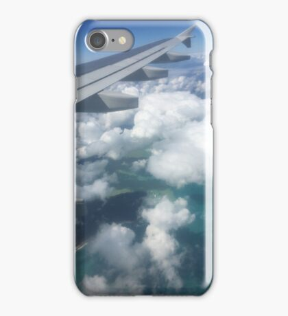 Way up in the clouds iPhone Case/Skin
