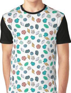 Summer Sea Shells  Graphic T-Shirt