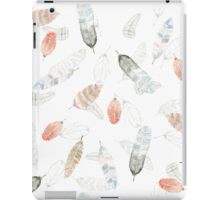 Flighty Feathers with Colors iPad Case/Skin