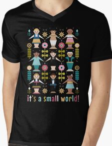 It's a Small World! Mens V-Neck T-Shirt