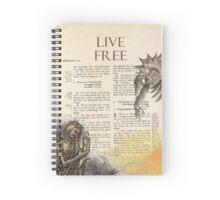LIVE FREE Spiral Notebook