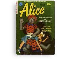 Rag Doll Alice Canvas Print