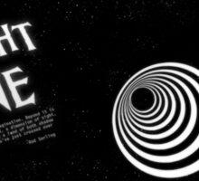 The Twilight Zone - E=mc2 Sticker