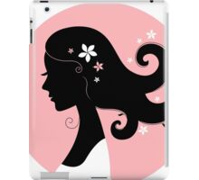 Romance girl shape for Wedding or Valentine iPad Case/Skin