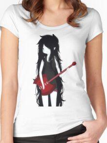 Marceline The Vampire Queen ❤️ Women's Fitted Scoop T-Shirt