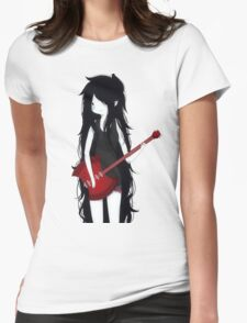 Marceline The Vampire Queen ❤️ Womens Fitted T-Shirt