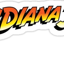 Indiana Jones original logo Sticker