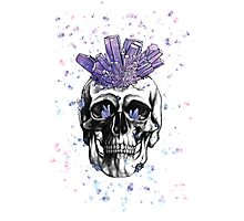Crystal Skull by Andrea Cain Photographic Print