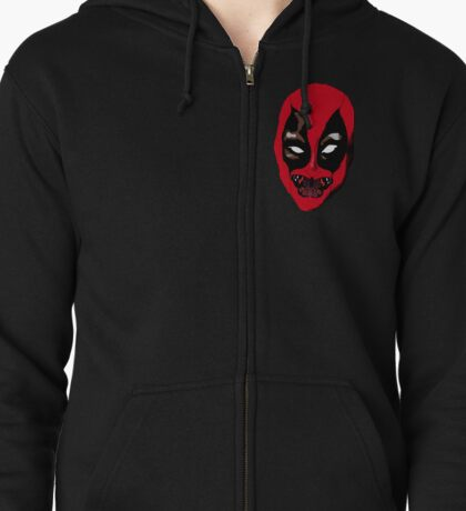 Silence of the dead Zipped Hoodie