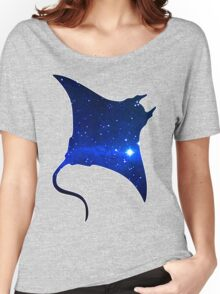 Space Manta Ray Women's Relaxed Fit T-Shirt