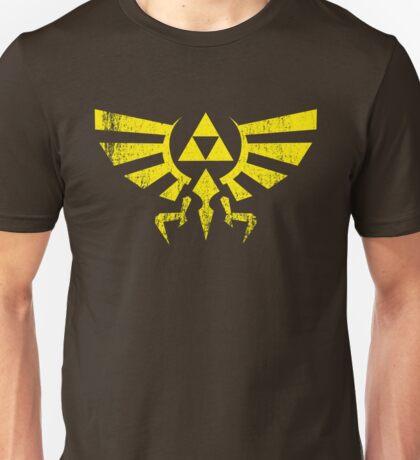 Worn Hylian Crest Unisex T-Shirt
