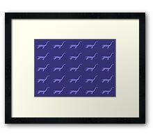 plesiosaurus Framed Print