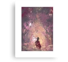 Poe Hunting Canvas Print