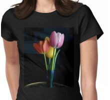 Candy Coloured Tulips (#1) Womens Fitted T-Shirt