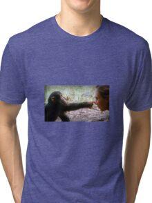 jane goodall Tri-blend T-Shirt