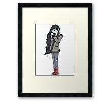 Marceline is 'smoking' hot ❤️ Framed Print