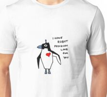 Penguin Robot Unisex T-Shirt