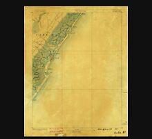 USGS TOPO Map New Jersey NJ Sea Isle 255374 1888 62500 Unisex T-Shirt