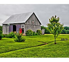 Barn with the Red Door Photographic Print