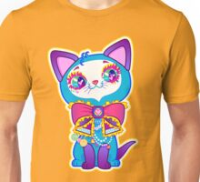 Kawaii and cute Blue Crystal Kitty  Unisex T-Shirt