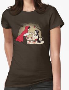 Red Riding Hood and Snow White Womens Fitted T-Shirt