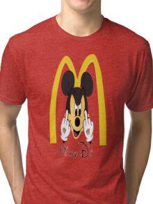 Mickey D Tri-blend T-Shirt