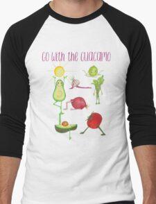 Go with the Guacamo Men's Baseball ¾ T-Shirt