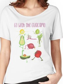 Go with the Guacamo Women's Relaxed Fit T-Shirt