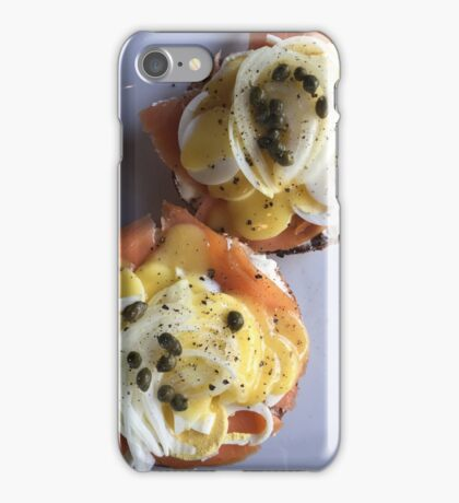 Salmon Benedict If you like, please purchase, try a cell phone cover FOODIE thanks  iPhone Case/Skin