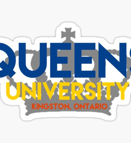 Queen's with crown 2 Sticker