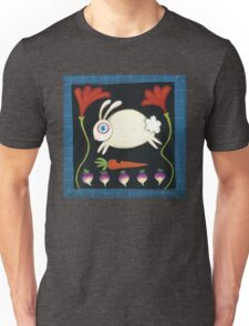 White Rabbit in the Garden Unisex T-Shirt