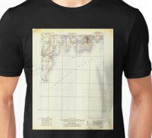 USGS TOPO Map Rhode Island RI Newport 353522 1931 62500 Unisex T-Shirt
