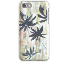 The Black Flowers iPhone Case/Skin