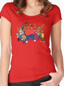 Fat Albert Women's Fitted Scoop T-Shirt