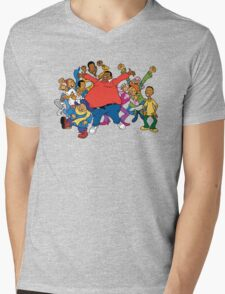 Fat Albert Mens V-Neck T-Shirt
