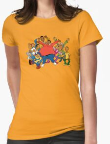 Fat Albert Womens Fitted T-Shirt