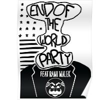 Welcome to the End of The World Party Poster