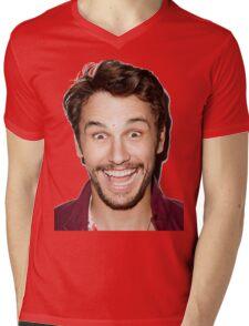 happy james Mens V-Neck T-Shirt