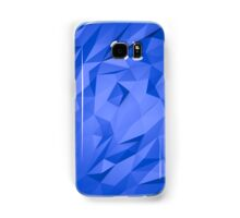 Abstract Blue Triangles Samsung Galaxy Case/Skin